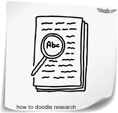 how to doodle research small
