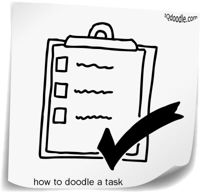 how to doodle task small