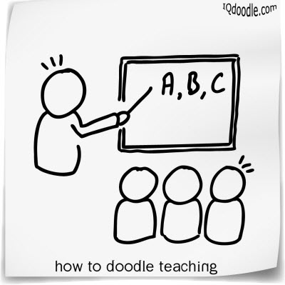 how to doodle teaching small