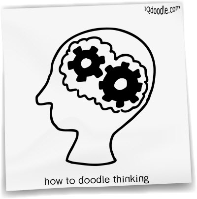 how to doodle thinking small