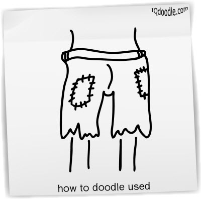 how to doodle used small