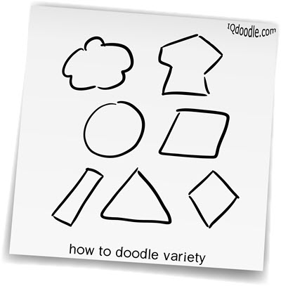how to doodle variety