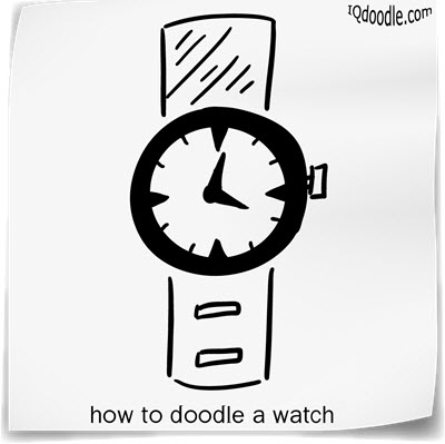 how to doodle watch small