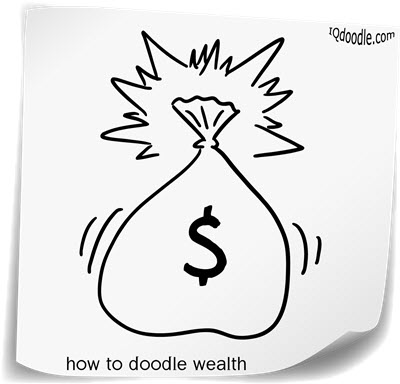 how to doodle wealth small