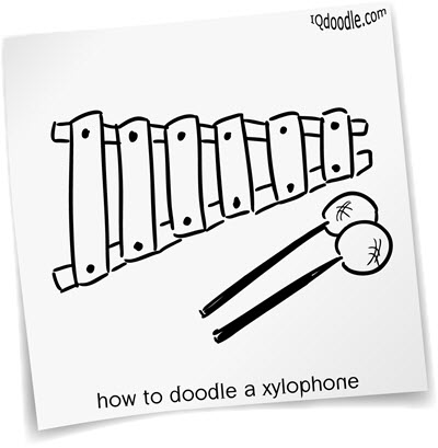 how to doodle xylophone small