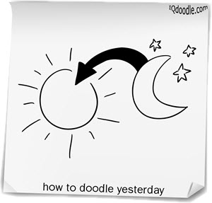 how to doodle yesterday small