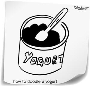 how to doodle yogurt small
