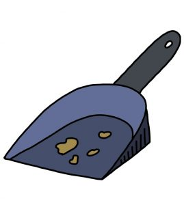 How to Doodle Dustpan