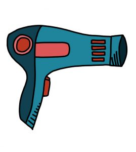 How to Doodle Hairdryer