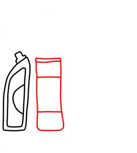 How to Doodle Cleaning Products 02