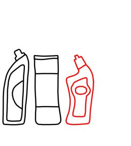 How to Doodle Cleaning Products 03