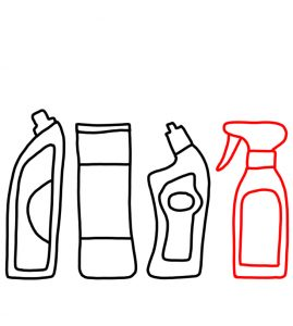How to Doodle a Cleaning Products