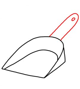 How to Doodle Dustpan 03