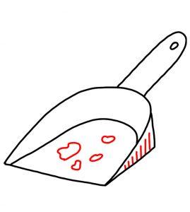 How to Doodle a Dustpan