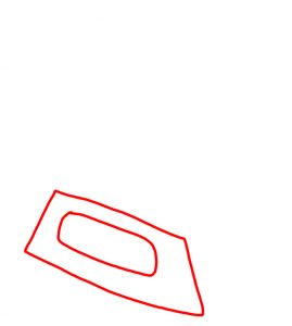 How to Doodle Iron and Ironing Board 01