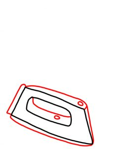 How to Doodle Iron and Ironing Board 02