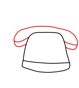How to Doodle Old Telephone 02