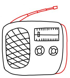 How to Doodle a Radio