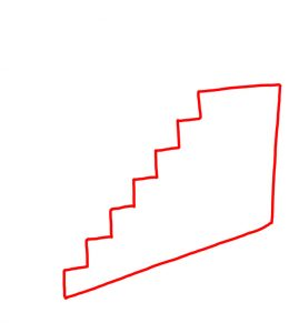How to Doodle Staircase 01