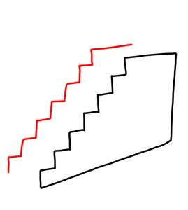 How to Doodle Staircase 02