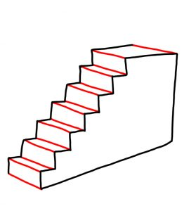 How to Doodle Staircase 03
