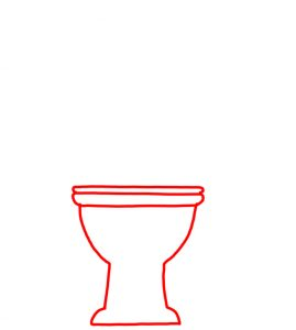 How to Doodle Toilet and Toilet Paper 01