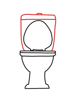 How to Doodle Toilet and Toilet Paper 03