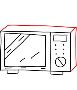 How to doodle microwave 03