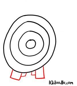 drawing target