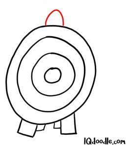 doodling target