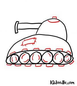 doodling tank