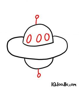 doodle a UFO