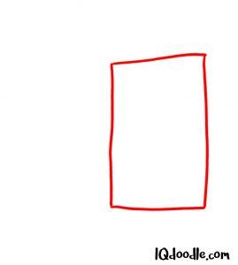 how to draw door