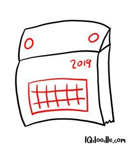 doodle callendar