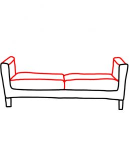 how to doodle couch 02