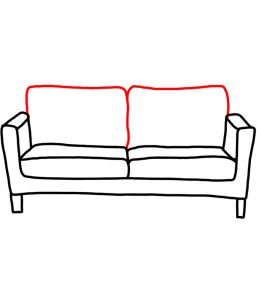 how to doodle couch 03