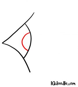 doodling eye