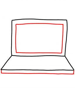 how to doodle laptop 02
