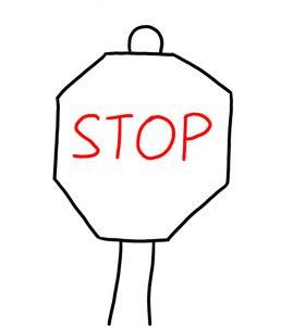 doodling sign