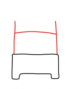 draw a bed