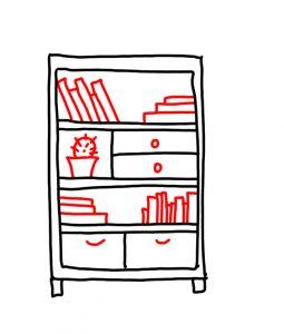 how to doodle shelf 03