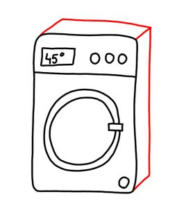 how to doodle washer 03