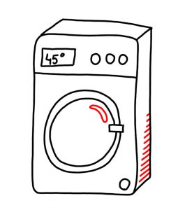 how to doodle a washer