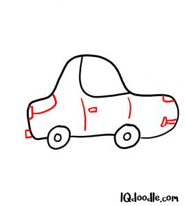 doodle a car