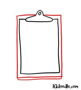 doodling a checklist
