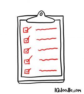 doodle a checklist