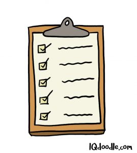 how to doodle a checklist
