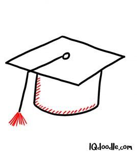 doodling a graduation