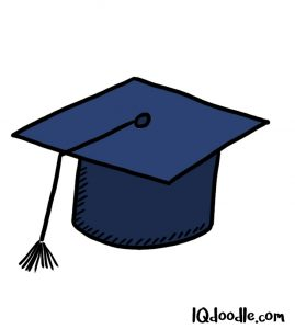 how to doodle a graduation