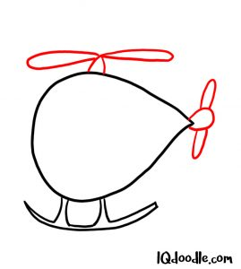 doodling a helicopter